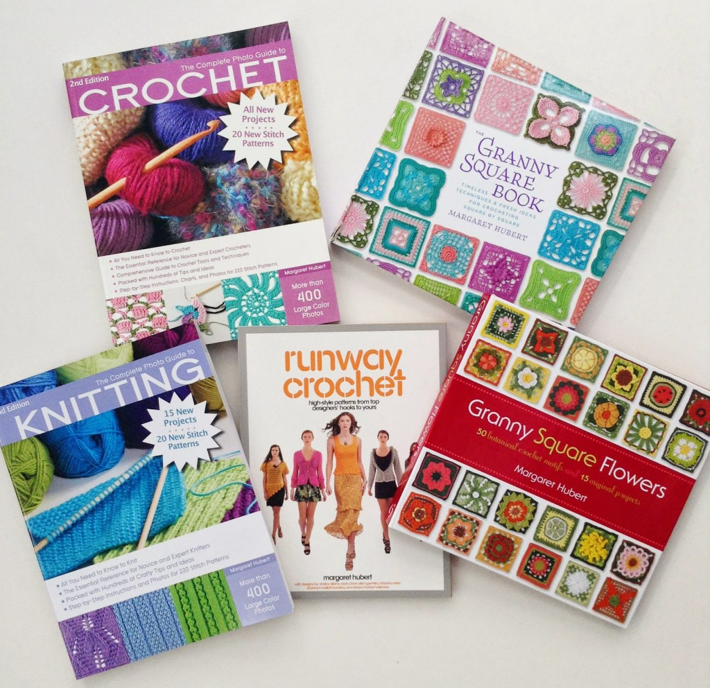 The beginner's guide to knitting & crochet! On sale now.