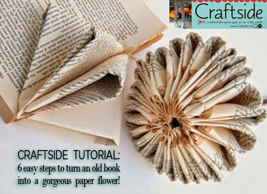 Decorate how to make a recycled book flower from how to make 100 decor decoration flower paper book bibliophile how to make diy mightylinksfo