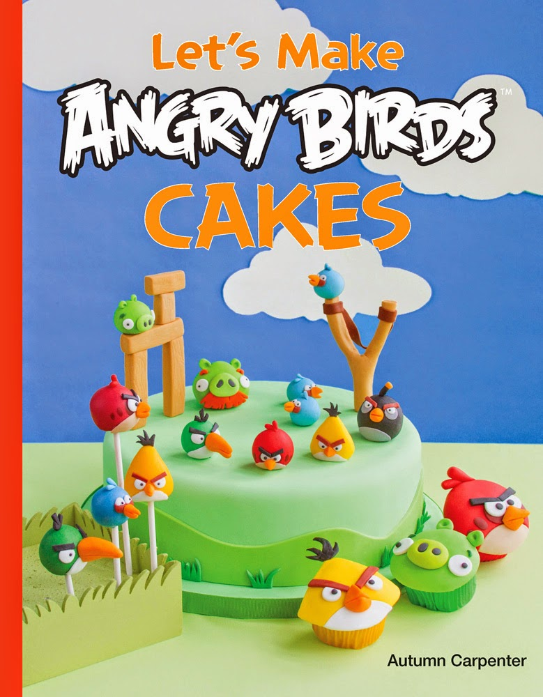 Decorate a Red Angry Bird Cupcake from the book Lets Make Angry