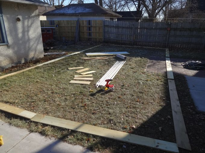 How To Make Backyard Ice Rink building a backyard ice rink, part 1 | quarto knows blog