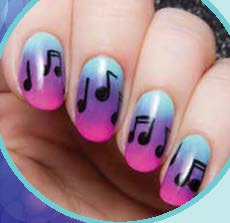 97 Toe Nail Art Designs For Kids Chevron Design Toe Nail Art Idea