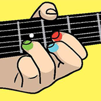 how to play kids on guitar
