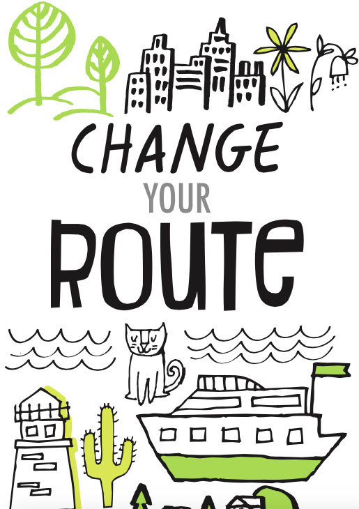 Route Change Your Life One Doodle At A Time